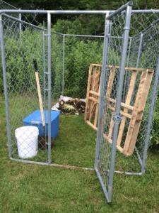 Community Compost setup
