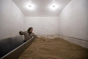 Dennis Nesel making specialty malts