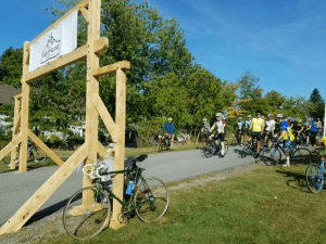 Rensselaerville Ride 2016 Starting Line