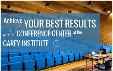Achieve your best results with the conference center at the Carey Institute