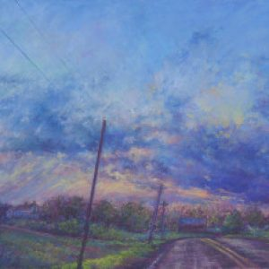 Susan-M-Story_Summer-Sundown_pastel-300x226-1