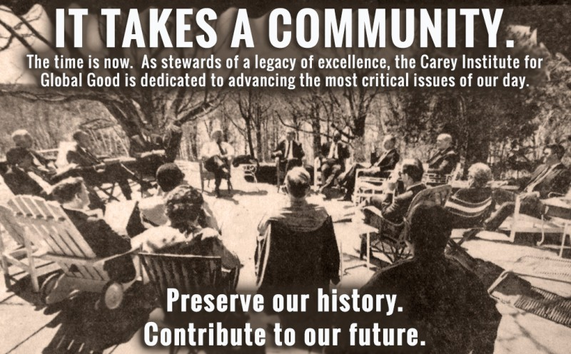 Preserve our history. Contribute to our future.